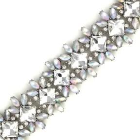 Roman Bride Ornate Crystal Bracelet2