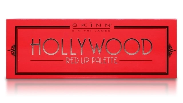 hollywood red lip palette