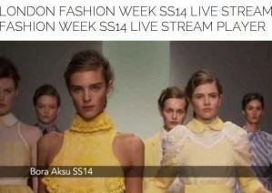 London Fashion Week is here and advicesisters.net has a live stream!  25 fabulous shows, 1 fabulous city!SS2104  #LondonFashionWeek