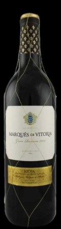 Marques de Vitoria Gran Reserva Tempranillo from 2004