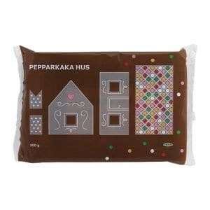 ikea gingerbread house