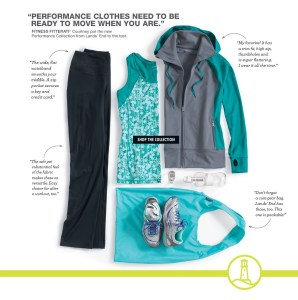 It's a New Year. Invest in Yourself.  Live & Work Out In Lands End Performance @LandsEnd