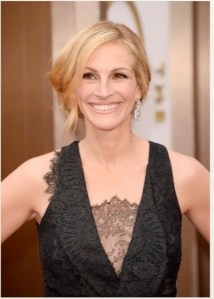 What They Used:  Julia Roberts Makeup by Lancome #Oscars #LancomeRedCarpet