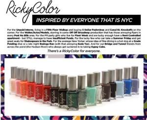 Rickys NYC Color My World @Rickys_NYC   #RickyColor