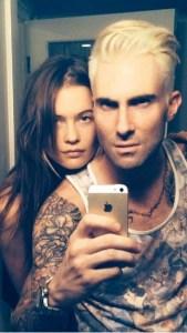 Do you like Adam Levine's Platinum Hair? @Redken @Davidstanko @CutlerSalon @AdamLevine #NotABoxedBlonde