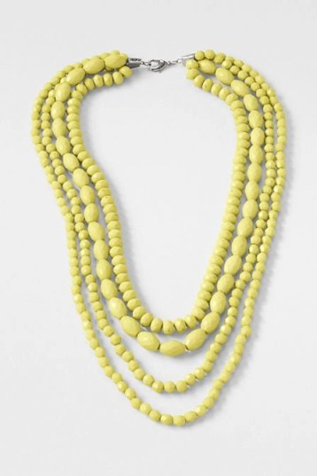 I love this statement necklace form lands end