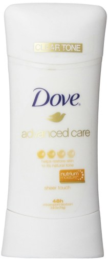 dove sheer touch