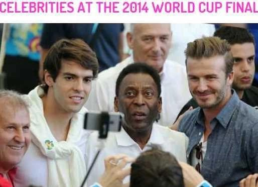 Video Treat: Celebs at the 2014 World Cup Final #World Cup