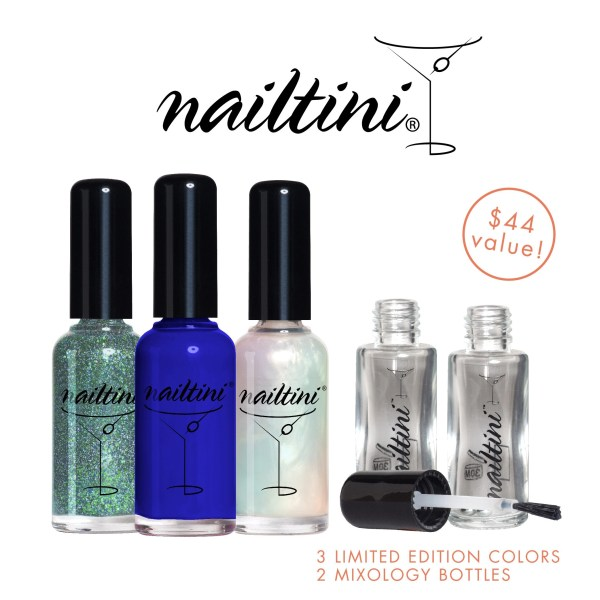 Mix Your Own- Nail Mixology by Subscription with NailTini's Lacquer Cabinet @tinibarmaster #Nails