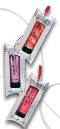 hard candy lip gel ornaments $1,00