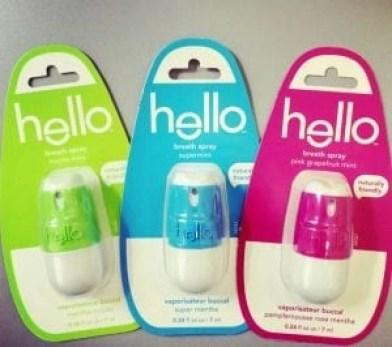 hello trio breath sprays