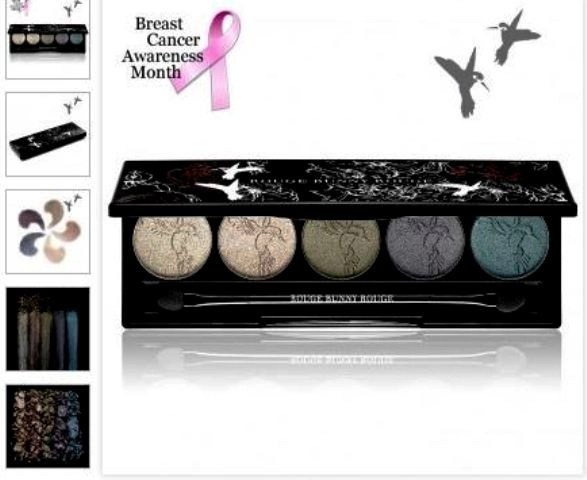 rouge bunny rouge limited edition breast cancer palette