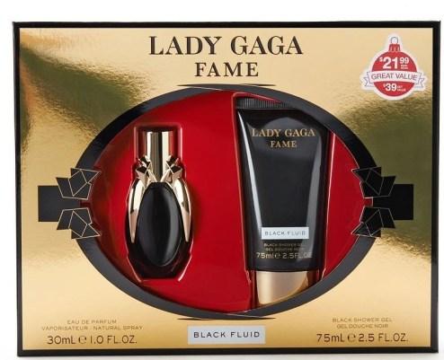 Lady GaGa Black Fluid fragrance set $21.99