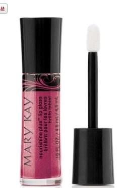 mary kay sparkle berry nourishine lip gloss