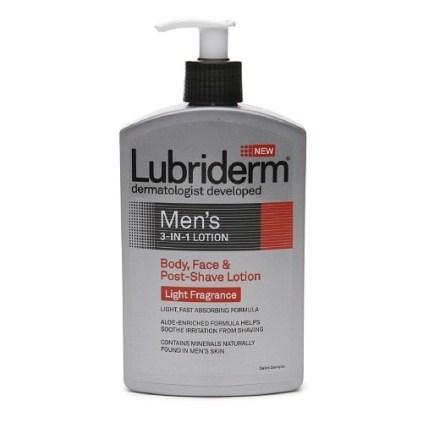 LUBRIDERM® Men's 3-in-1 Lotion
