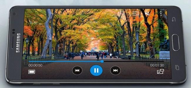 Samsung Galaxy Note 4 display is stunning