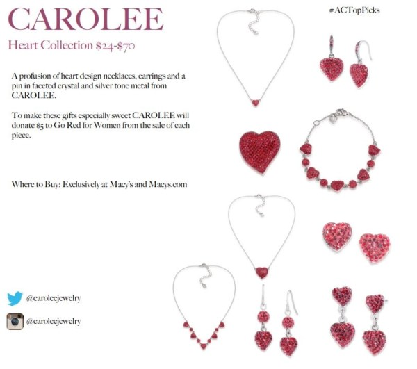 CAROLEE HEART COLLECTION
