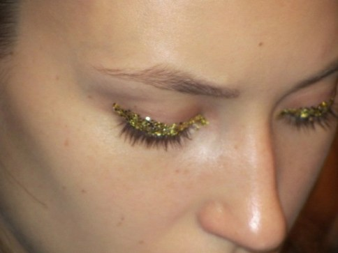 a closeup I took of the eye look