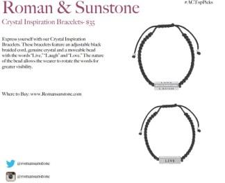 ROMAN AND SUNDSTONE BRACELETS