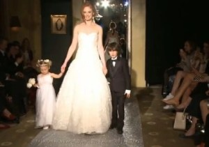 video OLEG CASSINI – FALL 2015 – BRIDAL FASHION WEEK IN BRIDAL FASHION WEEK FALL 2015