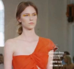 Jennifer Kate's Australia Fashion Week SS 2016 runway show video #MBFWA, #FashionWeekAustralia