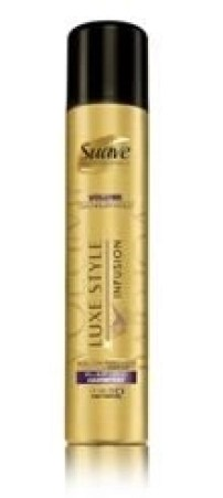 suave volumizing plump hold hairspray