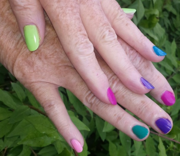 essie neon nail collection 2015