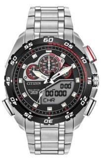 Eco Drive by Citizen Promaster Super Sport Model: JW0111-55E MSRP $675..