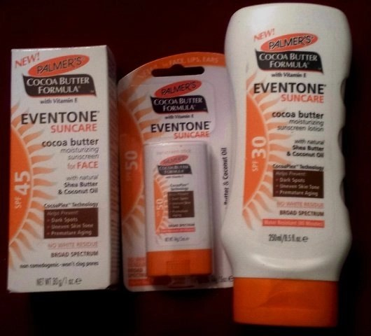 palmers SPF products
