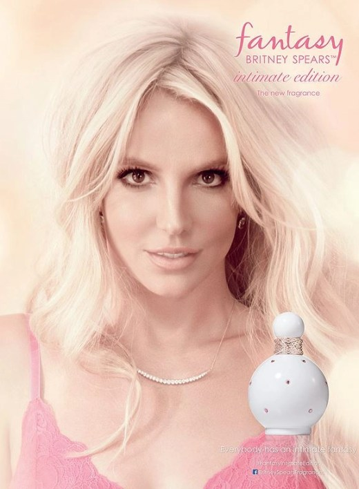 britney spears tantasy intimate dition fragrance ad