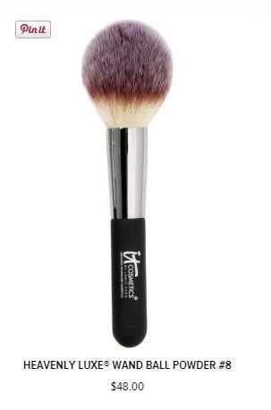 heavenly luxe wand ball powder brush IT cosmetics