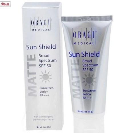 obagi sun shield spf 50 matte