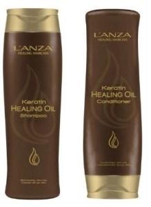 L'anza healing oil shampoo and conditioner
