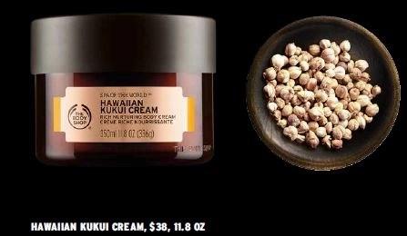 body shop hawaiian kukui nut cream