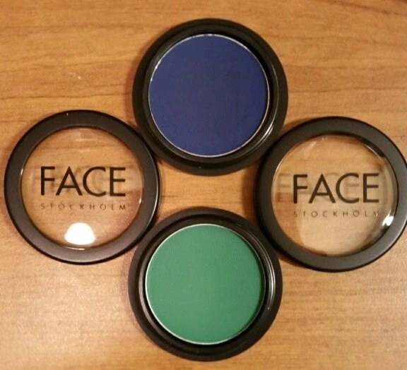 face stokholm eye shadows