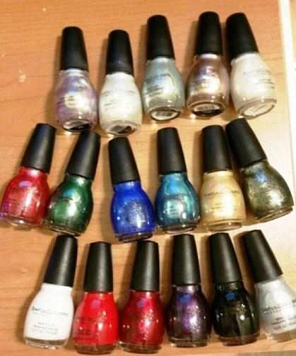 nail polisy 2015 holiday sinful colors