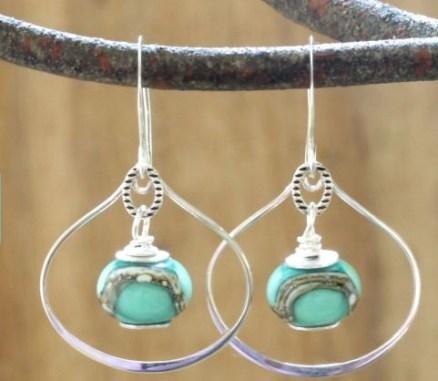 Helen's Adornments earrings