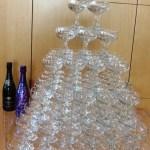 Celebrate with wine worth savoring +  DIY a champagne tower @TaittingerUSA, @palmazvineyards, #wine,  #TaittingerTime