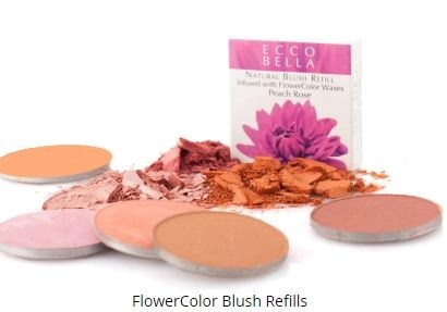 ecco bella flower power natural blush refills
