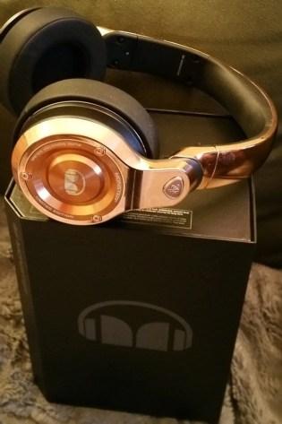 monster headphones on box