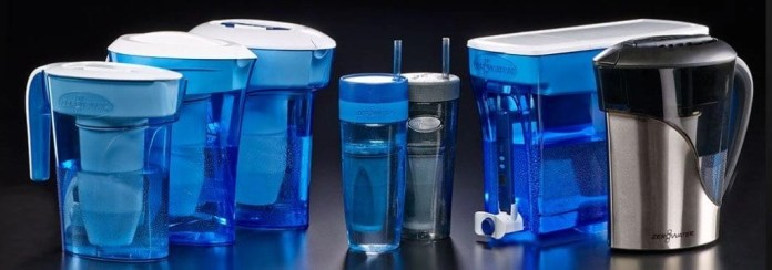 zero water collection of pitchers