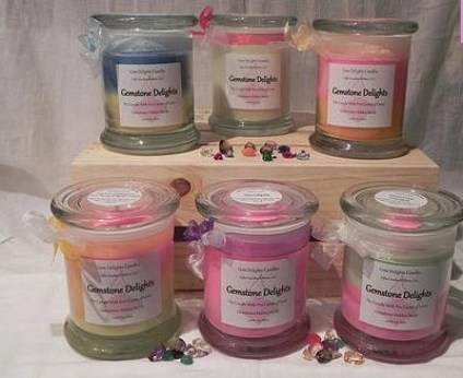 gem delights candle