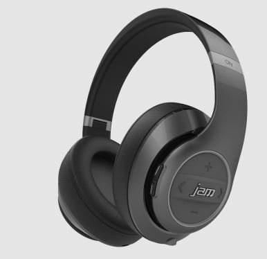 jam transit city over the ear foldable headphones