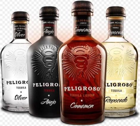 Peligroso Tequilas: Añejo · Resposado · Cinnamon · Silver