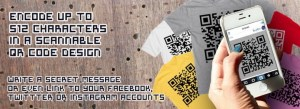 best pickup tool EVER! QR code tee is scan-dalous  #fashion, #tech, #valentinesday