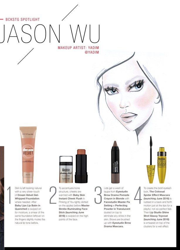 jason wu makeup maybelline 1