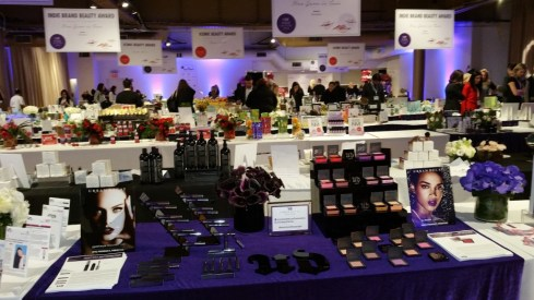 a view of a tiny piece of the CEW Beauty Products Award Preview event