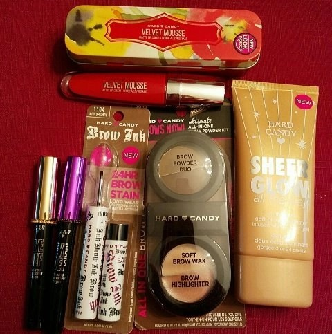 hard candy cosmetics for spring 2015 at walmart