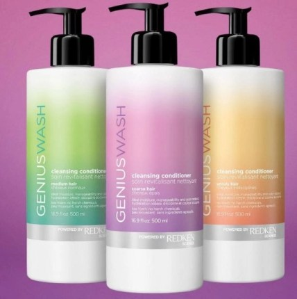 Redken Genius Wash Cleansing Conditioners