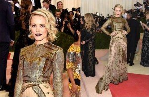RACHEL MCADAMS 2016 MET GALA Manus x Machina: Fashion in an Age of Technology #narsissist